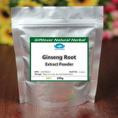 Organic Korean Ginseng Extract Powder 20:1,High Quality Better body Supplement,Boost Your Immune System,Improve Mental Function