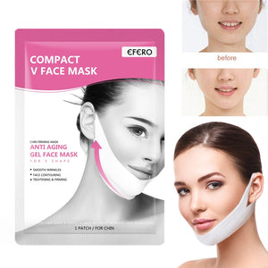 EFERO Face Slim V-Line Lift Up Mask Face Cheek Chin Neck Slimming Thin Belt Beauty Delicate Thin Face Mask Slimming Bandage Tool