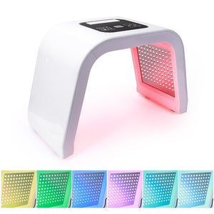 7 Color LED Photon Light Therapy Beauty Machine PDT Lamp Treatment Skin Acne Remover Anti-wrinkle Portable Spa Mask Machine