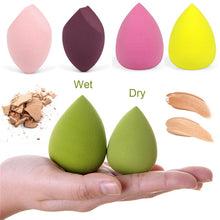 Load image into Gallery viewer, 1pcs Cosmetic Puff Makeup Sponge Smooth Blending Face Liquid Foundation Cream Make Up Cosmetic Powder Puff Beauty Tools