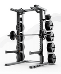 MATRIX MAGNUM MEGA HALF RACK | Johnson Fitness Australia
