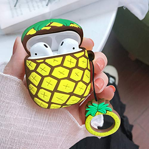 Shockproof Portable & Protective Silicone Cover - Pineapple - Purigen