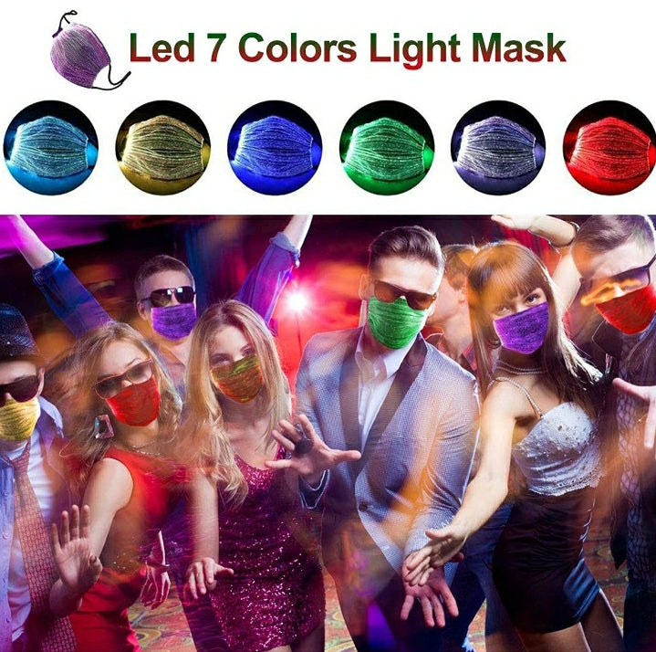LED Rechargeable Luminous Mask - Purigen