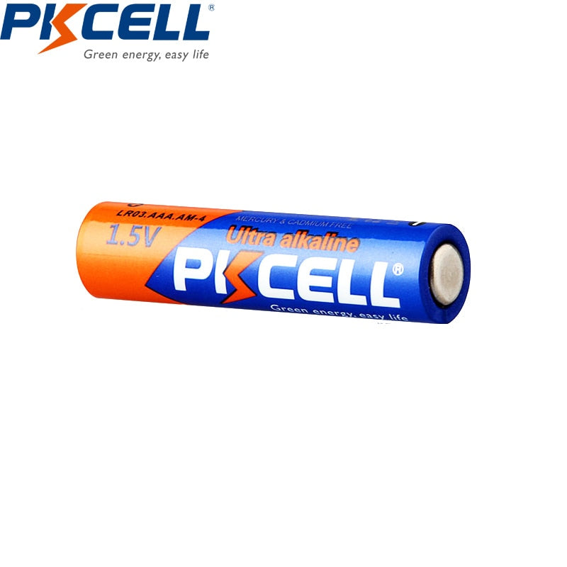 20 X PKCELL LR03 1.5V Battery AAA Alkaline Dry Batteries - Purigen