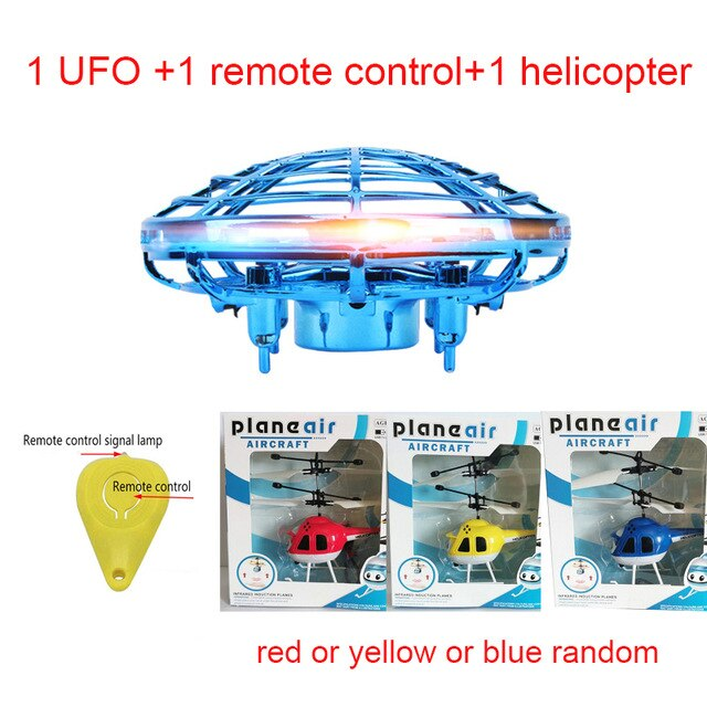 Colorful Anti-collision Flying UFO Drone - Purigen