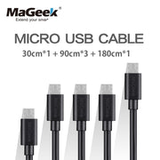 [5-Pieces] MaGeek Micro USB Cable (1, 1 ft )(3, 3 ft) (1, 6 ft) - Purigen