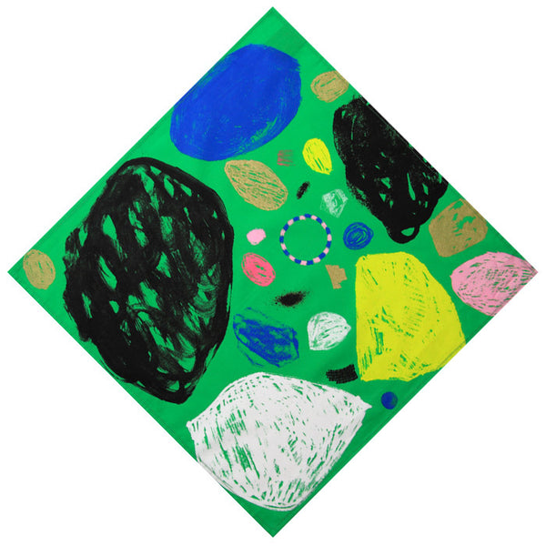 'Untitled 2' Wrapping Cloth (Green) – 500mm