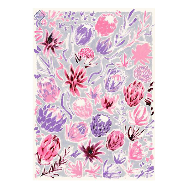 'Flower Study' Wrapping Paper
