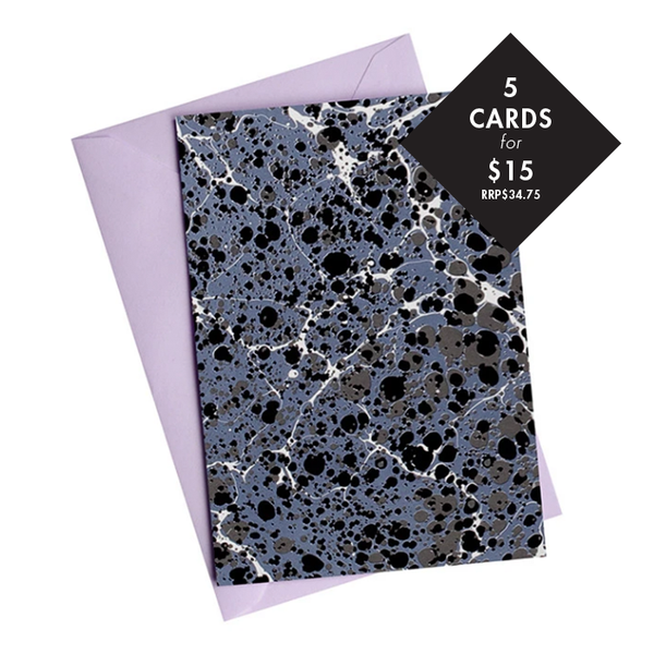 5 x 'Dark Matter' Card - Value RRP$34.75