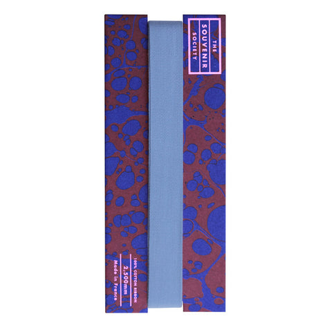 'Uniform Blue' Cotton Ribbon