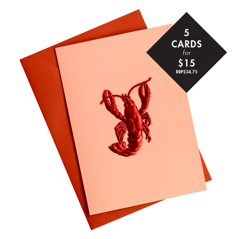 5 x 'Thousand Island' Card - Value RRP$34.75