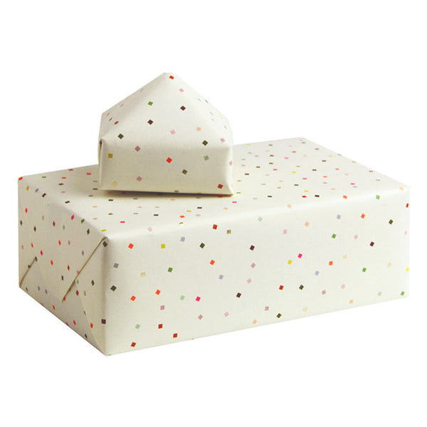 5 x 'Confetti' Wrapping Paper - Value RRP$39.75
