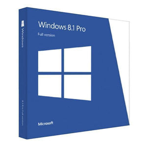 Microsoft Windows 8.1 Professional International License 32/64 Bit