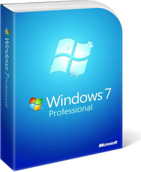 Microsoft Windows 7 Professional 32/64bit - 3 Pack Instant Licenses