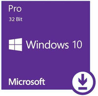 Microsoft Windows 10 Professional License 32-bit