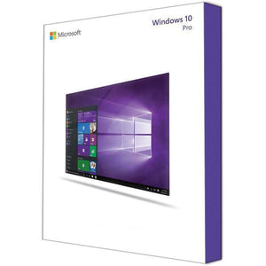 Microsoft Windows 10 Pro - 1 License With Installation Media