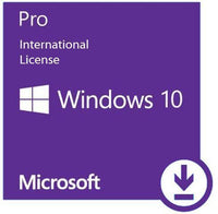 Microsoft Windows 10 Pro - International License