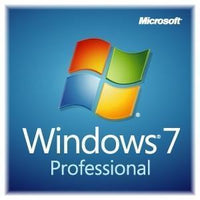 Microsoft Windows 7 Pro SP1 License OEI DSP 64 BIT & Install Media