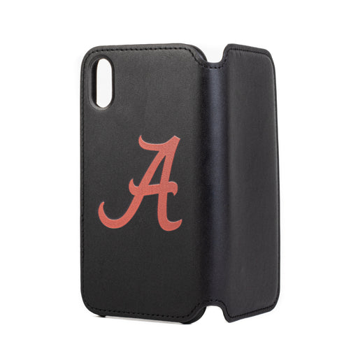 Alabama Crimson Tide iPhone X Xs Wallet Phone Case & Card Holder