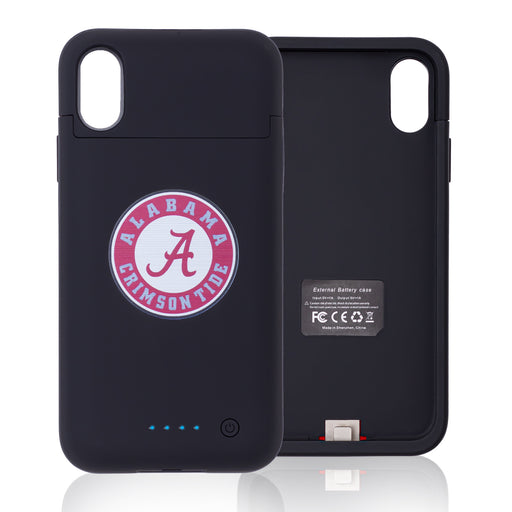 Alabama Crimson Tide iPhone X Xs Wireless Charging Smart Battery Phone Case
