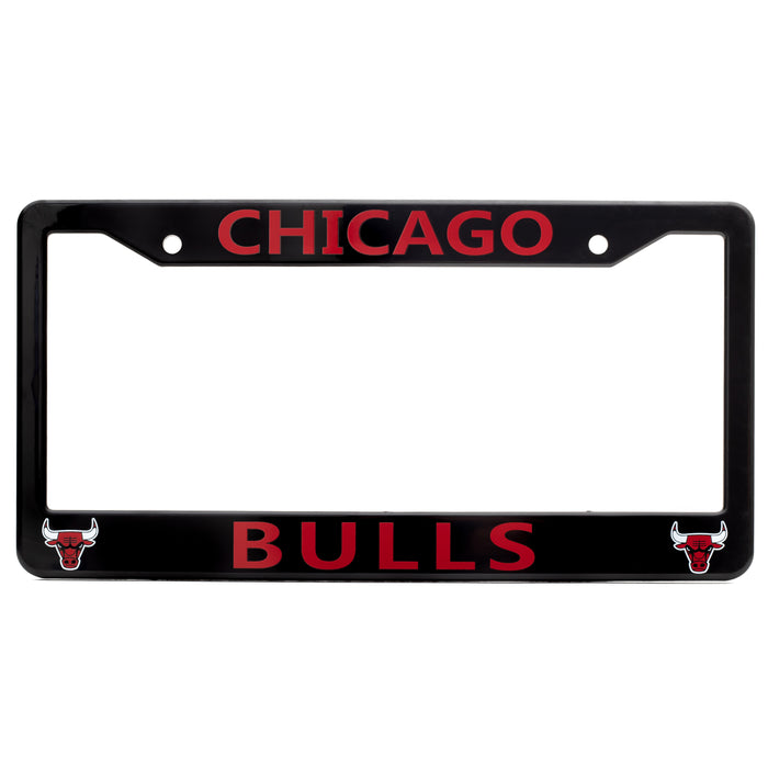 Chicago Bulls License Plate Frame Cover