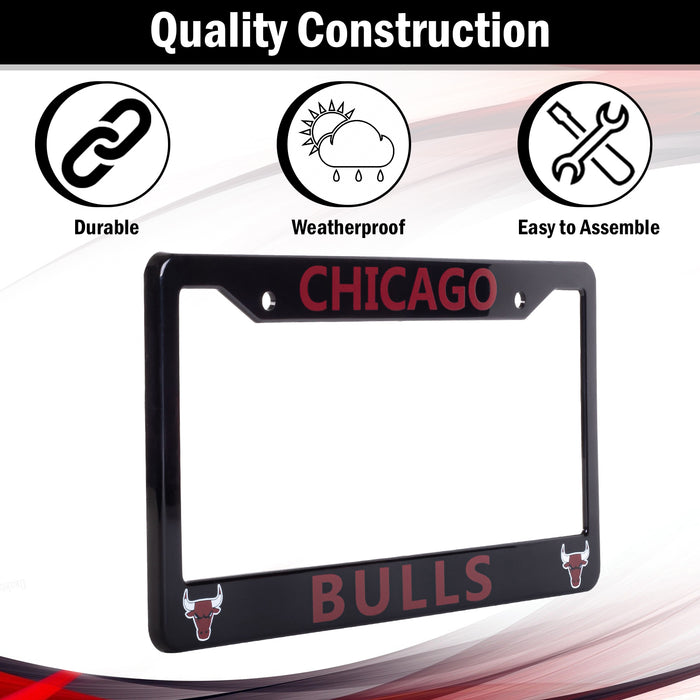 Chicago Bulls License Plate Frame Cover | ads