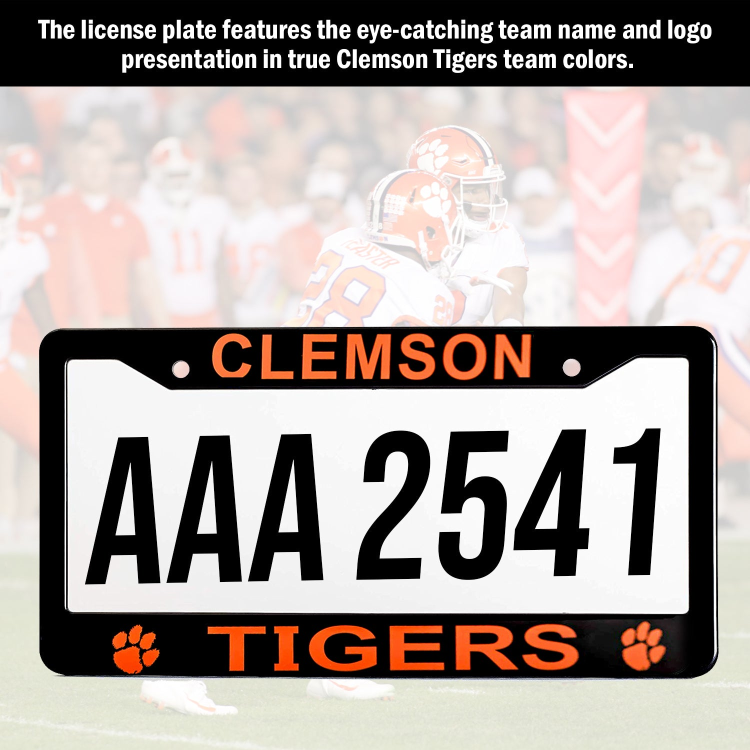 Clemson Tigers License Plate Frame Cover | ads