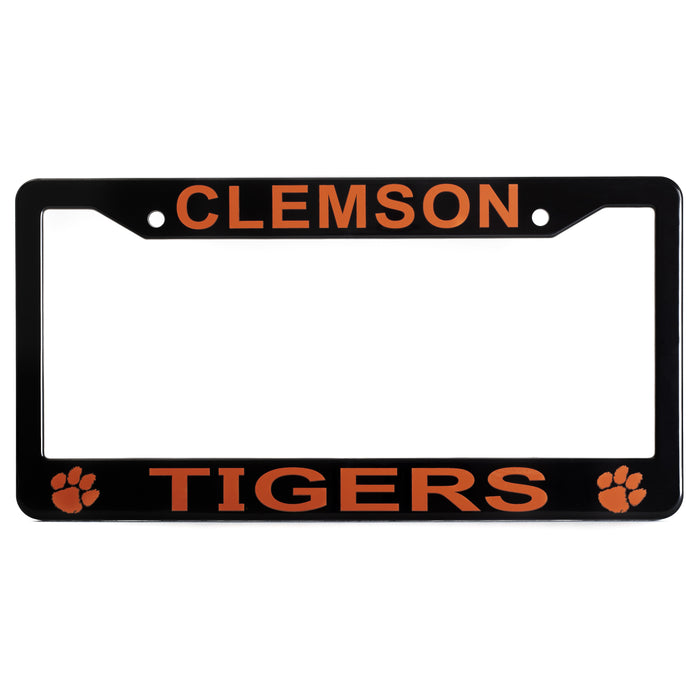 Clemson Tigers License Plate Frame Cover
