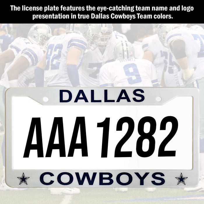 Dallas Cowboys License Plate Frame Cover | ads