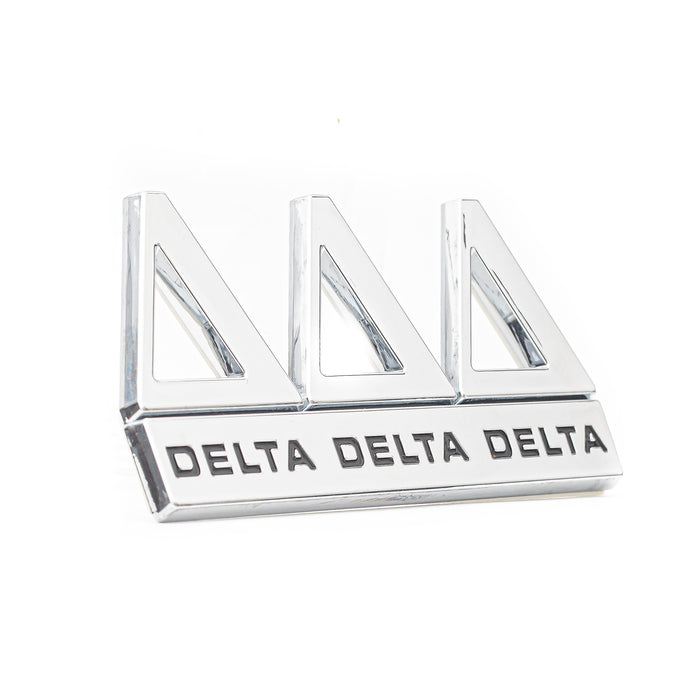 Tri Delta Sorority Decal Auto Emblem