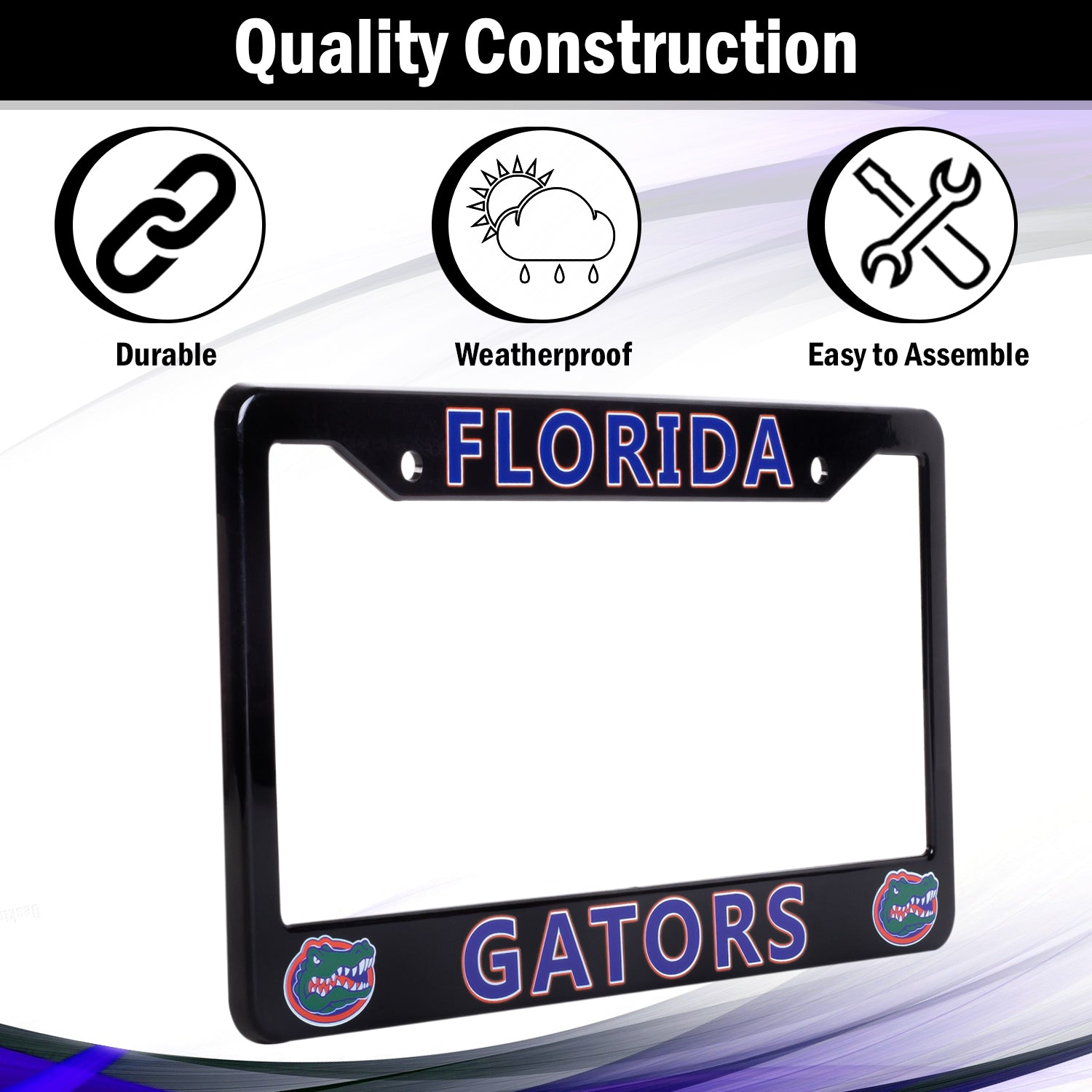 Florida Gators License Plate Frame Cover | ads