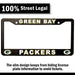 Green Bay Packers License Plate Frame Cover