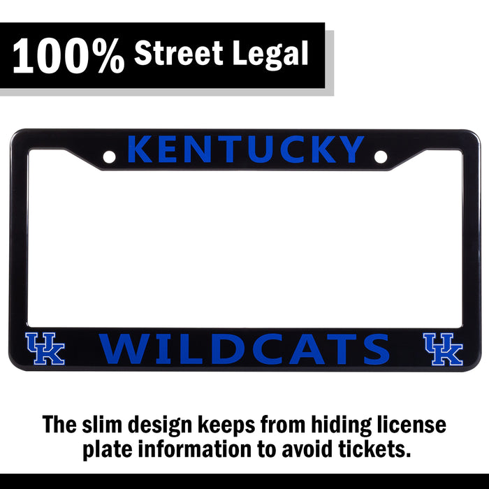 Kentucky Wildcats License Plate Frame Cover