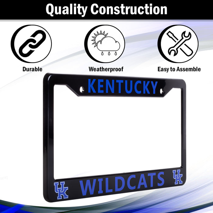 Kentucky Wildcats License Plate Frame Cover | ads