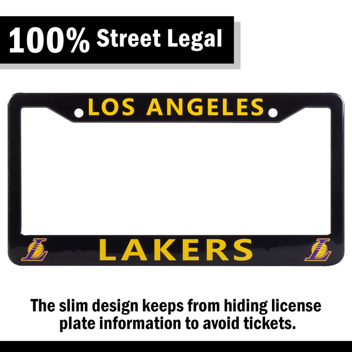Los Angeles Lakers License Plate Frame Cover