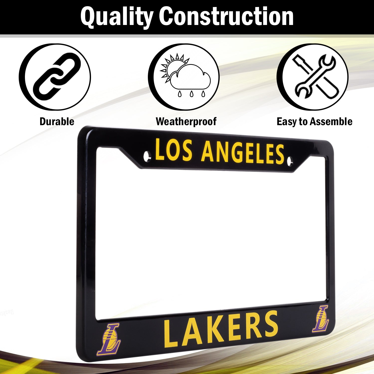 Los Angeles Lakers License Plate Frame Cover | ads