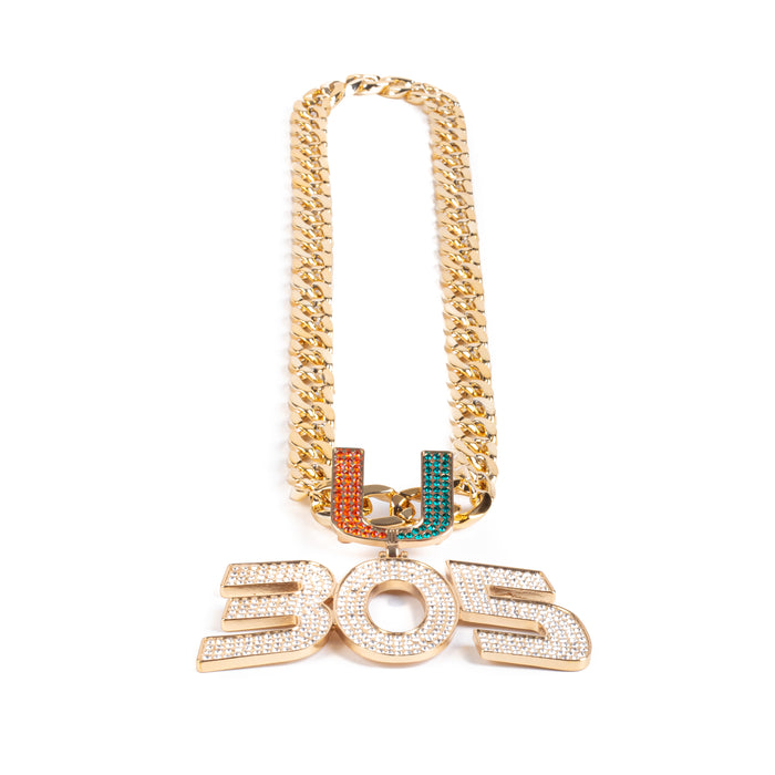 Miami Hurricanes 305 Turnover Chain