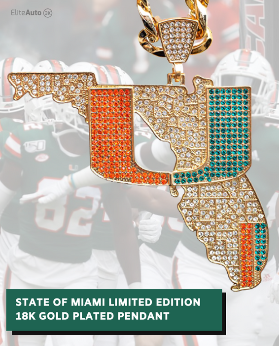 Miami Hurricanes State of Miami Turnover Chain 4.0