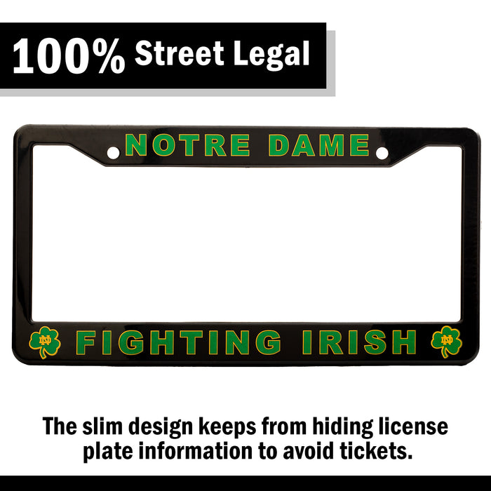 Notre Dame Fighting Irish License Plate Frame Cover