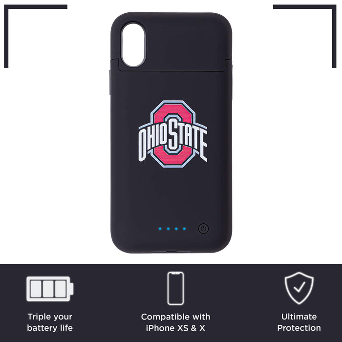 Ohio State Buckeyes iPhone X Xs Wireless Battery Charging Phone Case