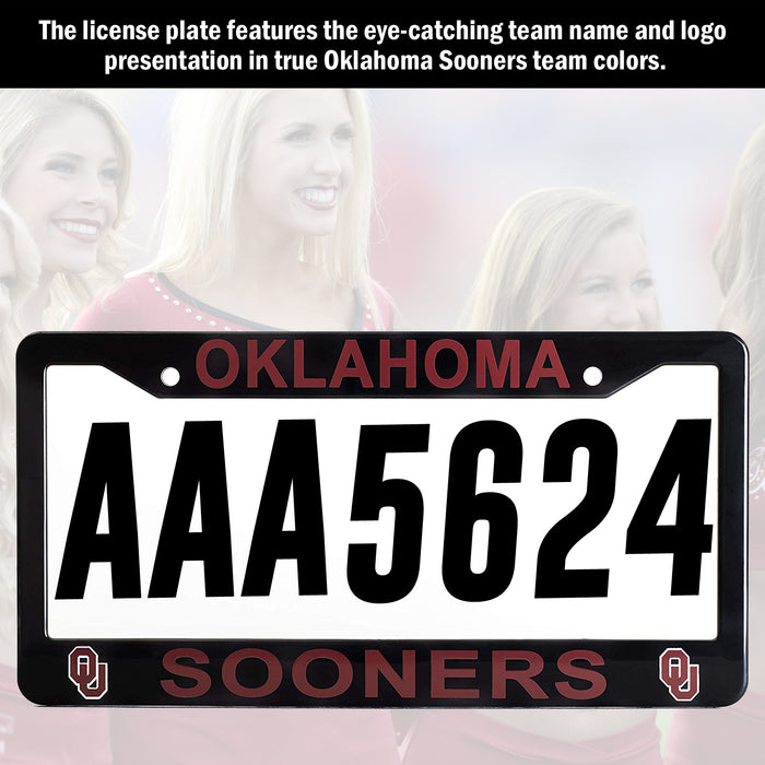 Oklahoma Sooners License Plate Frame Cover | ads