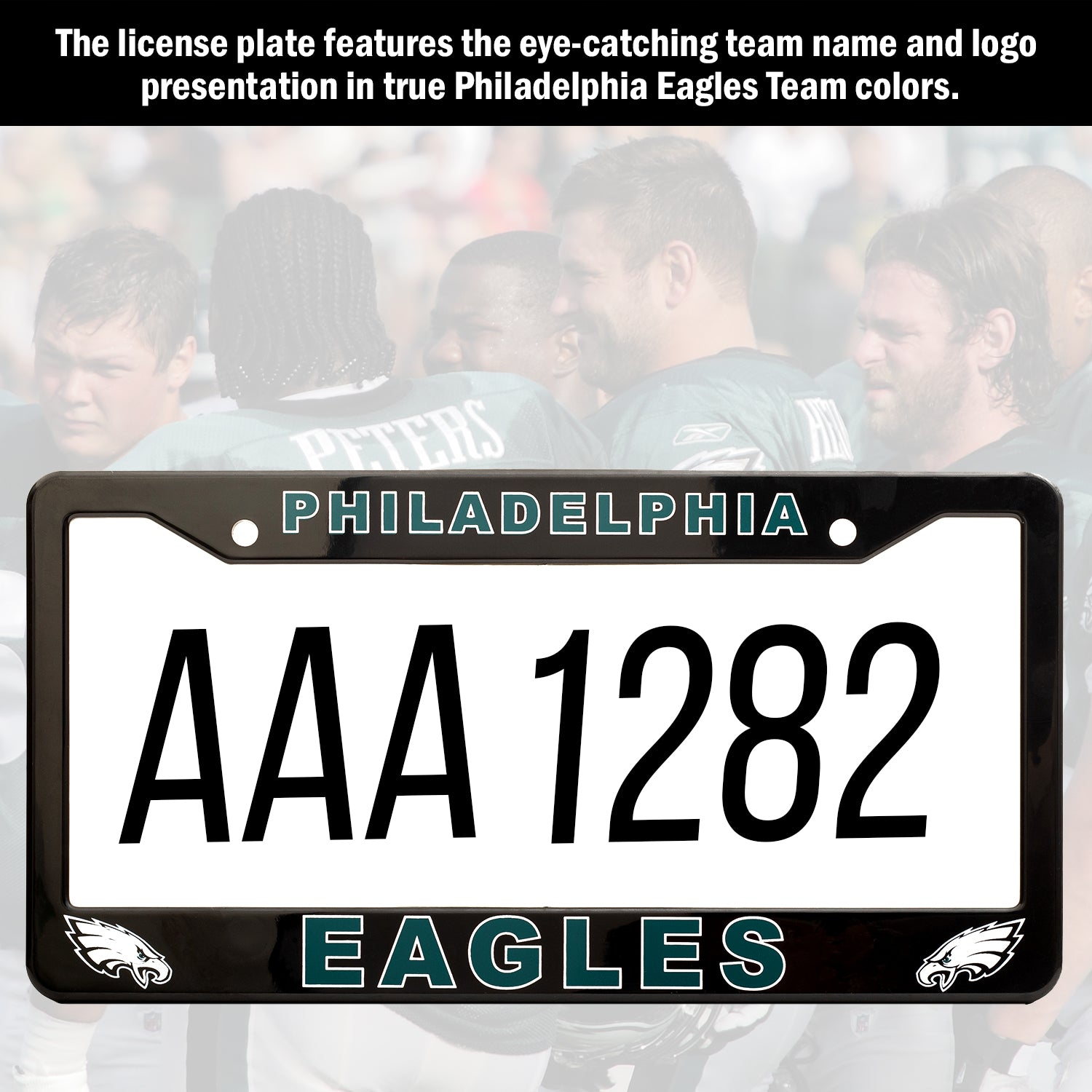 Philadelphia Eagles License Plate Frame Cover | ads