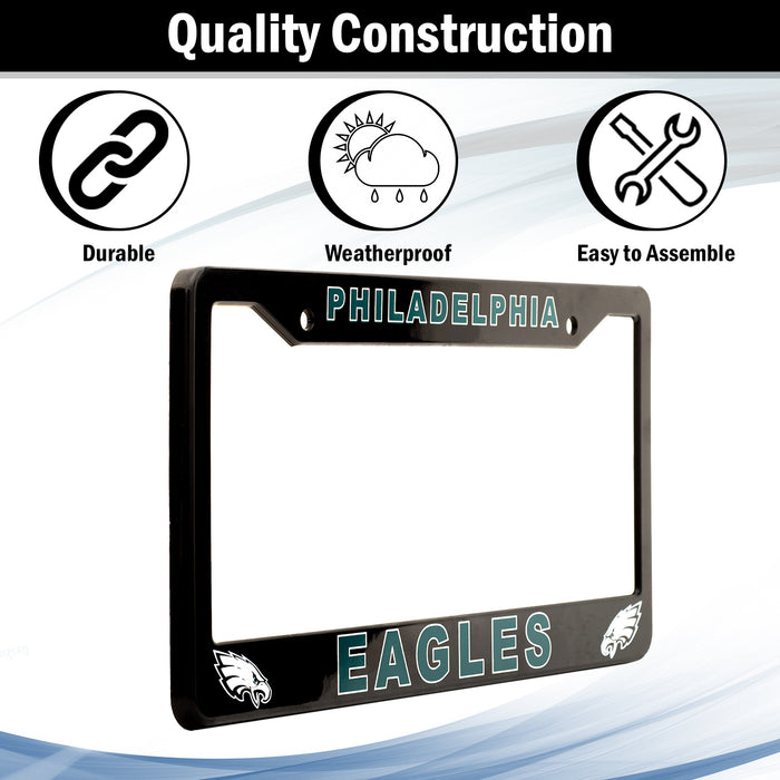 Philadelphia Eagles License Plate Frame Cover