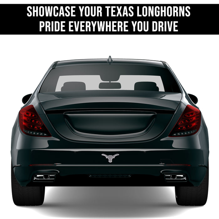 Texas Longhorns 3D Chrome Auto Emblem