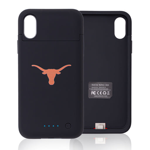 Texas Longhorns iPhone X Xs Wireless Battery Charging Phone Case