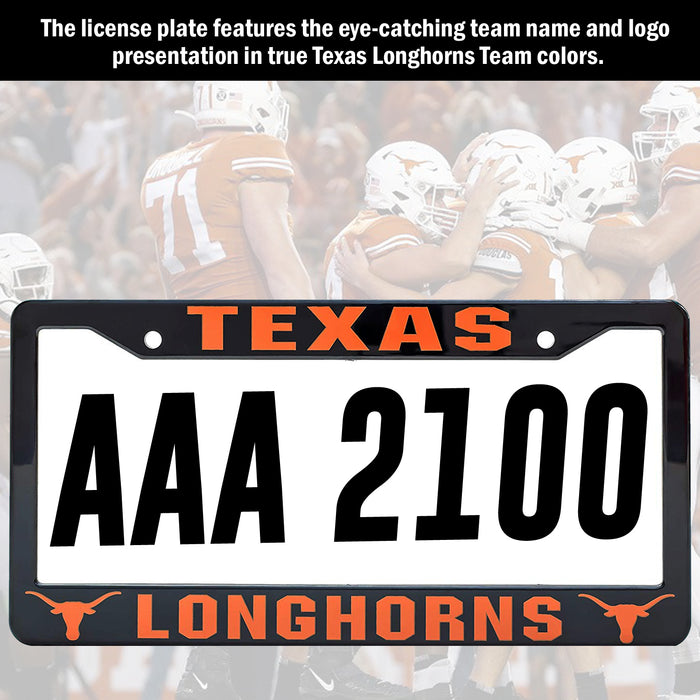 Texas Longhorns License Plate Frame Cover | ads