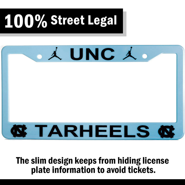 UNC North Carolina Tar Heels License Plate Frame Cover
