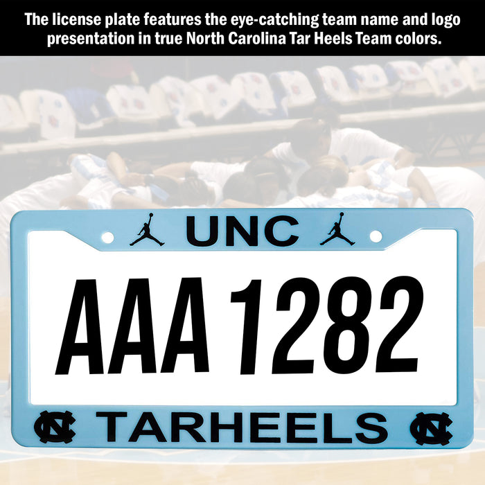 UNC North Carolina Tar Heels License Plate Frame Cover | ads