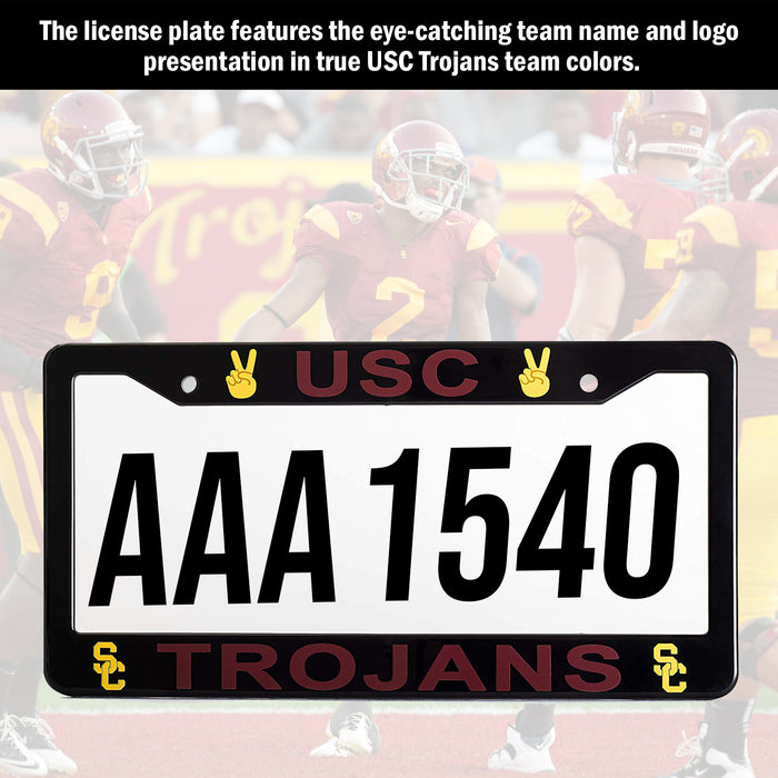 USC Trojans License Plate Frame Cover