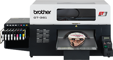 Diagnosing and Fixing a clog in the Brother GT3 Series garment printers